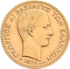 Griechenland - Anlagegold: George I. 1863-1913: 20 Drachmen 1876 A, KM# 49, Friedberg 15. 6,42 G, 90 - Griechenland