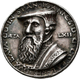 Altdeutschland Und RDR Bis 1800: Pfalz - Kurlinie Simmern Johann II. 1500-1557: Silbermedaille 1554 - [ 1] …-1871 : Etats Allemands