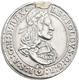 Haus Habsburg: Leopold I. 1657-1705: 1/4 Taler O. J., Hall, 7,03 G, Henkelspur, Fast Vorzüglich. - Monnaies