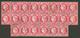 TUNIS : Spectaculaire BLOC De 22 Du 80c CERES (n°57) Obl. GC 5107. Quelques Défauts. RARETE. TB. - Francia (antiguas Colonias Y Protectorados)