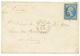 """1863 20c Obl. GC 2240 + ESCAD. DE LA MEDIT. MARSEILLE Sur Enveloppe Avec Texte Daté """"LE PIREE, A Bord Du REDOUTABLE"""" Pou - Marcophilie (Lettres)"""