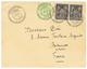 1899 SAGE 5c + 10c(x2) Obl. CANDIE CRETE Sur Enveloppe Pour La FRANCE. Qualité Exceptionnelle. - Francia (vecchie Colonie E Protettorati)