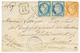 GUADELOUPE : 1877 CG CERES 40c + 25c(x2) Sur Enveloppe RECOMMANDEE De POINTE A PITRE Pour La FRANCE. TB. - Non Classificati