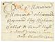 """1788 Cachet Rare PAQUEBOT + COLONIES Rouge Sur Lettre Avec Texte Daté """"MARSEILLE"""" Pour La MARTINIQUE. RARE. TB. - Unclassified"""