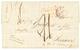 """1845 COLONIES ART.12 + Taxe 21 + """"VIA BOSTON"""" Sur Lettre Avec Texte ( GRANDE PÊCHE )daté """"ST PIERRE De T.N."""" Pour ST SER - St.Pierre & Miquelon"""