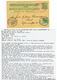 NICARAGUA / GERMANY : 1899 NICARAGUA P./Stat 2c Canc. CORINTO + GERMANY 5pf Canc. KDMS N°36 To KIEL. Superb. - Germania