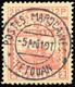 O 7 Valeurs. Série Complète Obl. TETOUAN. TB.(cote : 1100) - Marokko (1891-1956)