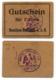 1914- 1918 // P.O.W. // Bon De Prisonnier De Guerre RUSSE // RUMÄNEN-BATAILLON A.A.B. // 1 Mark - Bonds & Basic Needs