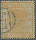 "China: 1878, Large Dragon Thin Paper 5 Ca. Deep Yellow, Canc. Black Seal ""(Pe)king"", Michel Cat. 420 - Chine"