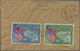 China: 1939, US Constitution 150 Years Set-ex Covers (4) Inc. Inland Airmail Tsunyi-Hankow, Register - Cina