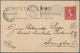 "China - Incoming Mail: 1902 Picture Postcard ""Niagara River"" Sent From Niagara Falls (4 Dec 02) To T - China"