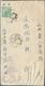 "China - Volksrepublik - Ganzsachen: 1952, 4th Series $800 Envelope With ""dancing Schoolgirl"" Illustr - 1949 - ... Volksrepublik"