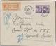 L BUREAU Français A L'ETRANGER - L - N°84 Paire - Obl. Alexandrie 31/01/31 - S/recom. Pr MARSEILLE - TB - France