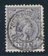 O PAYS-BAS - O - N°45 - 1g Violet - TB - Periodo 1852 - 1890 (Guglielmo III)