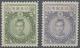 Japan: 1937, Showa Wite Paper Empress Jingu 5 Y., 10 Y., Unused Mounted Mint First Mount VLH (Michel - Zonder Classificatie