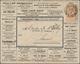 Belgien - Ganzsachen: 1898, Stationery Envelope 10c. Orange-brown With Advertisement Imprints On Fro - Postwaardestukken