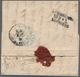 Russland - Vorphilatelie: 1861, Infrequnt Prepaid Letter (franco) From Saint Petersburg (Russia) Wit - ...-1857 Prephilately