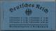 Deutsches Reich - Markenheftchen: 1934, Hindenburg Heftchen Zu 2 Reichsmark Mit Ordnungsnummer 2, H- - Postzegelboekjes