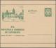 Danzig - Ganzsachen: 1927. Sonder-Bildpostkarte Zum 19. Esperanto-Kongress 10 Pf Grün Wappen Mit Abb - Danzig