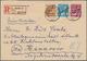 Berlin: 1949: 20, 24 Und 40 Pf Scharzaufdruck Zusammen Auf Brief Ab Berlin SW 11 Vom 16.1.49 Nach Ha - [5] Berlin