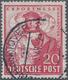 Bizone: 1948, 20 Pfg. Hannover Messe Mit Liegendem Wasserzeichen, Gestempeltes Prachtstück, Fotobefu - Zona Anglo-Americana