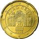 Autriche, 20 Euro Cent, 2008, SPL, Laiton, KM:3140 - Autriche