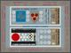 Jemen: 1968, Winter Olympic Venues (coat Of Arms) Imperf. Miniature Sheet 3b.+4b. 'Grenoble 1968 And - Yemen
