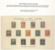 Uruguay: 1890/1955 (ca.), SPECIMEN/PROOF COLLECTION, Comprehensive And All-embracing Collection Of A - Uruguay