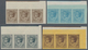 Monaco: 1924/1933, Coat Of Arms And Prince Louis II. 16 Different Values 1c. Grey To 50c. Brown-lila - Monaco