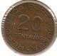 MOCAMBIQUE Mozambique 20 CENTAVOS 1936 - Mozambique