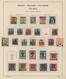 Nachlässe: ALTE SCHWARTEN - Sammlungsaufgabe Mit Fünf Schweren, Dicken, Alten Vordruckalben (Schaube - Stamps