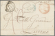 Italien - Vorphilatelie: 1750/1860, Comprehensive Collection With Ca.400 Letter-sheets, Comprising I - ...-1850 Voorfilatelie