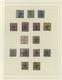 Hannover - Marken Und Briefe: 1850/1864, Gestempelte Sammlung Von 32 Marken Auf Albenblättern Sauber - Hanover