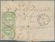 Thurn & Taxis - Marken Und Briefe: 1852/1867, THURN UND TAXIS IM RHEINGAU WÄHREND DER MARKENZEIT: Um - Thurn En Taxis