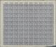 Danzig: 1923, Freimarken 10.000 M Lebhaftgrauviolettblau, Die Ohne Aufdruck Nicht Verausgabte Ungezä - Dantzig