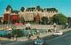 Victoria British Columbia B.C. - Empress Hotel - Written In 1973 - Stamp - Cars - 2 Scans - Victoria