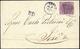 1869 - 20 Cent. Carta Opaca, Tinta Intermedia Tra Il Lilla Rosa E Il Lilla Grigio (28c/28d), Perfett... - Papal States