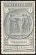 1923 - 1 + 1 Lira Camicie Nere (149), Filigrana Lettere Quasi Completa, Gomma Originale, Perfetto. C... - Unclassified