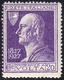1927 - 20 Cent. Volta Violetto, Errore Di Colore, Francobollo Naturale (210A), Gomma Integra, Perfet... - Unclassified