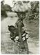 LIBERIA : NATIVE MOTHER AND CHILD - BOY SCOUTS OF LIBERIA STAMP / ADDRESS - HAMPTON (10 X 15cms Approx.) - Liberia
