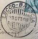 AMBULANTE LECCO - BRESCIA ( 1 ) 23 OTT 08   SU CARTOLINA ROMA PIAZZA S.PIETRO - Storia Postale