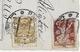 (RECTO / VERSO) PARDUBICE EN 1921 - BEAUX TIMBRES ET CACHET - CARTE PHOTO DEYL FORMAT CPA VOYAGEE - Czech Republic