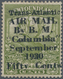 "Neufundland - Flugpost: 1930, 36 C. Sage-green With Overprint ""Trans-Atlantic AIR MAIL By B.M. ""Colu - Newfoundland"