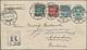 Dänemark: 1896 Destination RUSSIA: Postal Stationery Envelope 4øre Used Registered From Hjørring To - 1864-04 (Christian IX)