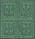 """Italien - Altitalienische Staaten: Modena: 1852, 5 Centesimi Green, Without Point After """"5"""", MNH, Wi - Modena"""