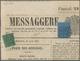 Italien - Altitalienische Staaten: Parma - Zeitungsstempelmarken: 1852/1853, Modena, 5 C Black On Gr - Parme
