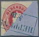 Oldenburg - Marken Und Briefe: 1862, 1 Gr Karmin, Diagonal Halbiert, Linke Obere Hälfte Mit Ideal Kl - Oldenburg