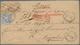 Preußen - Ganzsachenausschnitte: 1867, Kreuzerzeit Und Ehemaliges Postgebiet Von Thurn Und Taxis, Ga - Prusse