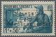 "Dt. Besetzung II WK - Frankreich - Dünkirchen: 1940, 1 Fr. + 50 C. Grünlichblau ""Pour Nos Soldats"" M - Besetzungen 1938-45"
