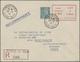 """Dt. Besetzung II WK - Frankreich - St. Nazaire - Ganzsachen: 1945, """"TAXE PERCU 4,50 Francs"""" Dunkelro - Bezetting 1938-45"""